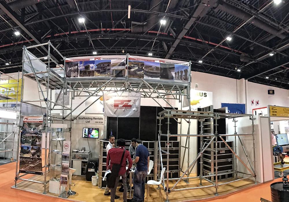 Pavlos Zenonos Amp Sons Ltd Middle East Concrete Exhibition